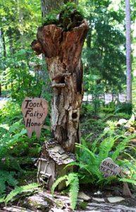 fairy-house garden