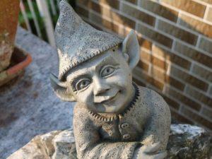 imp garden statue