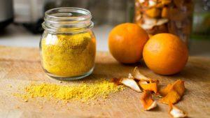 Dried, Orange
