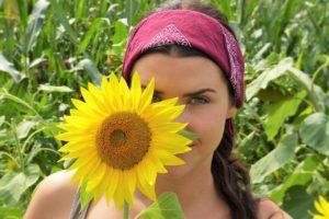 sun-flower girl